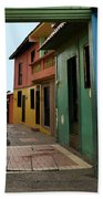 Colorful Guayaquil Alley Beach Towel