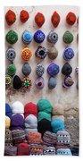 Colorful Hats Beach Towel