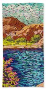 Colorful Hueco Tanks Beach Towel