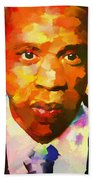 Colorful Jay Z Palette Knife Beach Towel