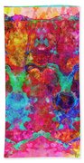 Colorful Life Beach Towel