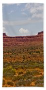Colorful Monument Valley Beach Towel