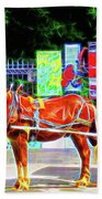Colorful New Orleans Beach Towel