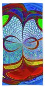 Colorful Orb Beach Towel