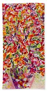 Colorful Organza Beach Towel