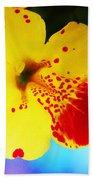 Colorful Pansies Beach Towel