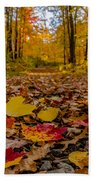 Colorful Path Beach Towel