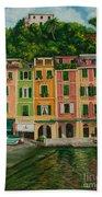 Colorful Portofino Beach Towel