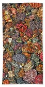 Colorful Rocks In Stream Bed Montana Beach Towel