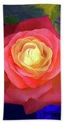 Colorful Rose 2 Beach Towel