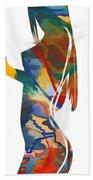Colorful Shape Beach Towel