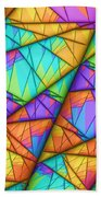 Colorful Slices Beach Towel