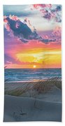 Colorful Sunset Beach Towel
