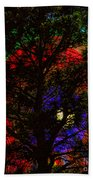 Colorful Tree Beach Towel