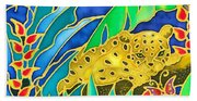Colorful Tropics 4 Beach Sheet