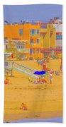 Colorful Venice Beach Beach Towel