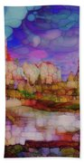 Colorful Vista Beach Towel