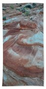Colorful Wash 2 Of Valley Of Fire Beach Towel