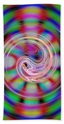 Colorful Water Drop Beach Towel