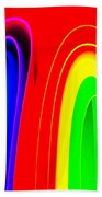 Colorful1 Beach Towel
