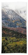 Colors Of Autumn On Mcclure Pass Beach Towel