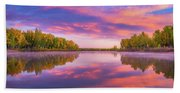 Colors Of Chatfield Beach Towel