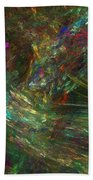 Colors Of Light Beach Towel
