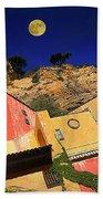 Colors Of Liguria Houses - Facciate Case Colori Di Liguria 3 Beach Sheet