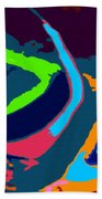 Colors Of The Coral Beach Towel