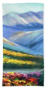 Colors Of The Mountains 2 Beach Towel