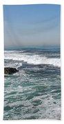 Colors Of The Sea Beach Towel