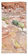 Colors Of Wash 3 In Valley Of Fire Beach Towel
