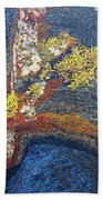 Colors On Rock II Beach Towel