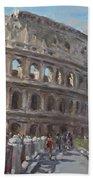 Colosseo Rome Beach Towel