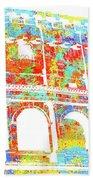Colosseum - Colorsplash Beach Towel