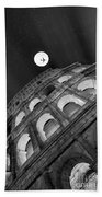 Colosseum Panorama Beach Towel by Stefano Senise