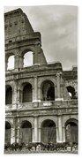 Colosseum  Rome Beach Towel by Joana Kruse