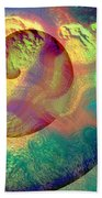Colour Spiral Beach Towel