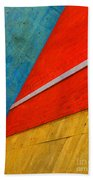 Colours And Shapes Beach Towel