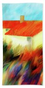 Colours Of The Wind Beach Towel