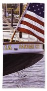 Columbia From The Stern Beach Towel