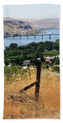 Columbia River - Biggs And Maryhill State Park Beach Towel by Carol Groenen