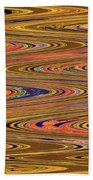 Columbia River Abstract #8045wpsws Beach Towel