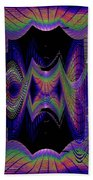 Columbia Tower Vortex 2 Beach Towel