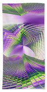 Columbia Tower Vortex 3 Beach Towel