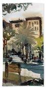Columbus Park Bayshore Tampa Beach Towel