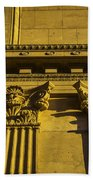 Columns Of The Palace Of Fine Arts Beach Towel