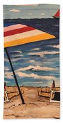 Comb Over Brothers Beach Towel