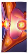 Combustion Abstract Beach Towel