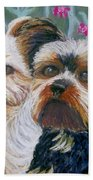 Come Play With Me Close-up Beach Towel